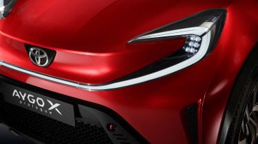 Toyota Aygo X prototype - studio front light