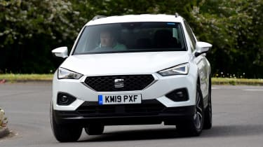 SEAT Tarraco long-termer - first report front cornering