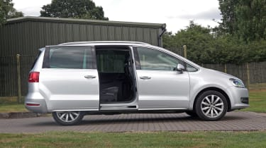 Used Volkswagen Sharan - side