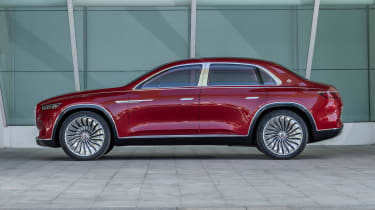 Vision Mercedes-Maybach Ultimate Luxury concept - side static