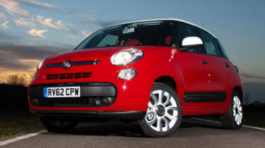 Used Fiat 500L - front