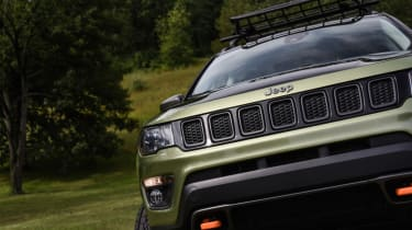 Jeep's wildest concepts driven - Trailpass front grille
