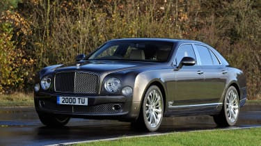 Bentley Mulsanne 6.75 - front