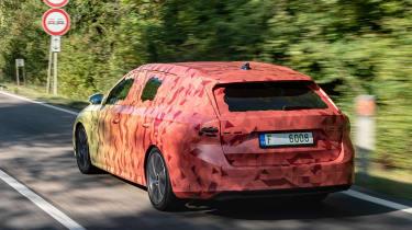 Skoda Octavia Estate prototype - rear action