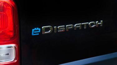 Citroen e-Dispatch - badge