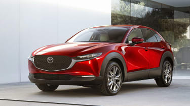 Mazda CX-30 front quarter