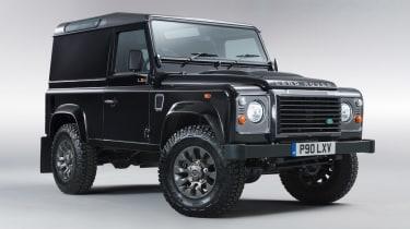 Land Rover Defender LXV front