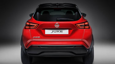 Nissan Juke - full rear