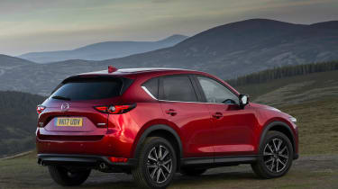 Mazda CX-5 2.0 - rear static