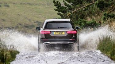 Mercedes E-Class All-Terrain - rear water