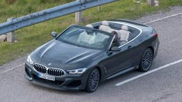 BMW 8 Series Convertible - spyshot front