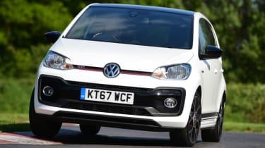 Volkswagen up! GTI cornering