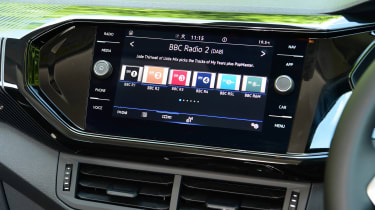 Volkswagen T-Cross Black Edition - infotainment