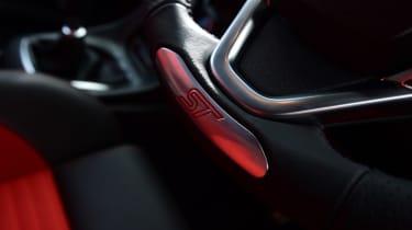 Ford Fiesta ST 5-door - ST steering wheel badge