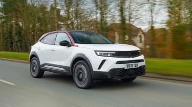Vauxhall Mokka - front tracking