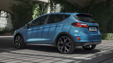 Ford Fiesta Active facelift - rear action