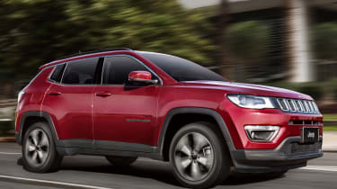 Jeep Compass 2017 - red side tracking