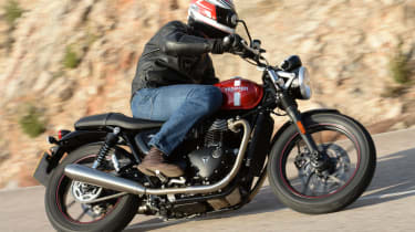 Triumph Street Twin review - lead