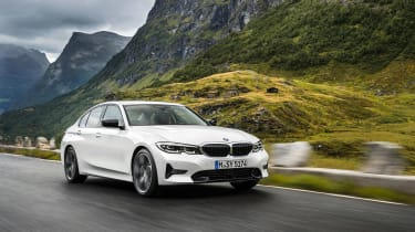BMW 3 Series - front action