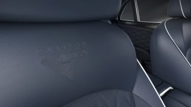 Bentley Mulsanne 6.75 edition - seat detail