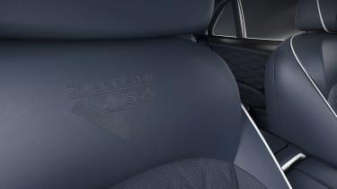 Bentley Mulsanne 6.75 edition - seat detail