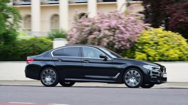 BMW 5 Series long termer - first report side