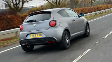 Alfa Romeo MiTo QV - rear tracking