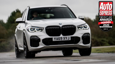 The supreme flexibility of the X5 means families will gel with the car, while the level of interior quality and equipment means the BMW fully justifies its price tag.