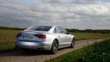 Audi A8 saloon 2014 rear static