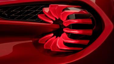 Aston Martin Vanquish Zagato - rear light