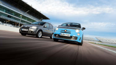 Fiant Panda 100HP and Abarth 595C