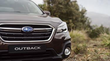 Subaru Outback headlights