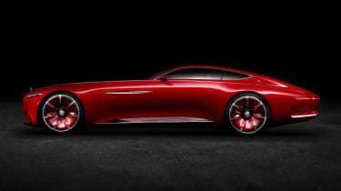 Mercedes-Maybach 6 concept coupe - studio side