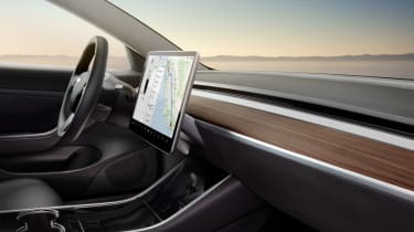 Tesla Model 3 cabin