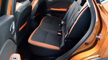 Renault Captur - rear seats