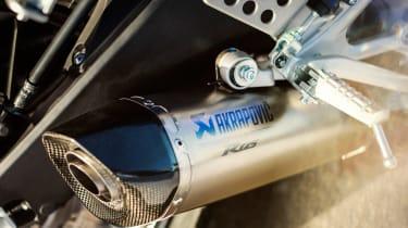 Yamaha YZF-R125 exhaust