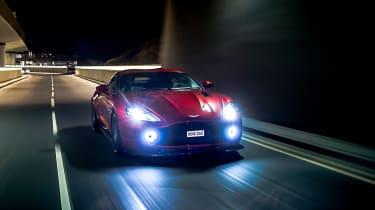 Aston Martin Vanquish Zagato - front panning