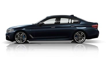 BMW M550d xDrive - side