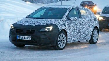 Vauxhall Astra 2015 spyshots
