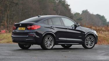 BMW X4 - rear static
