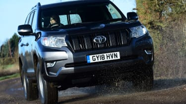 Toyota Land Cruiser Utility Commercial - front tracking