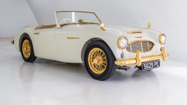 Austin Healey 100-Six - header