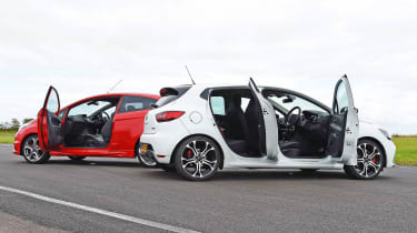 Renault Clio RS 220 Trophy - practicality