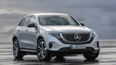 Mercedes EQC - front static