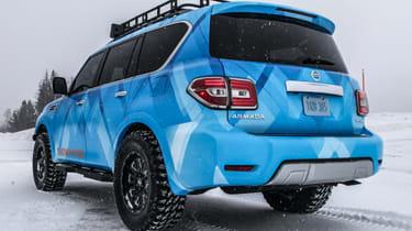 Nissan Armada Snow Patrol rear