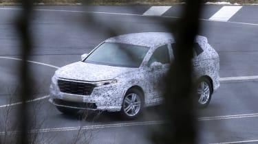 Honda CR-V spied - front