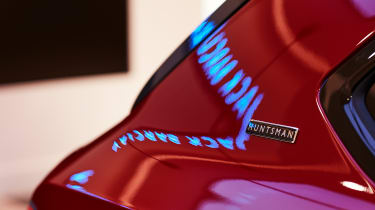 Bentley Bentayga Huntsman - badge