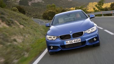 BMW 4 Series Gran Coupe 2014 action front