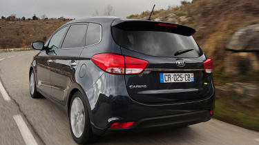 Kia Carens 2 1.7 CRDi rear tracking