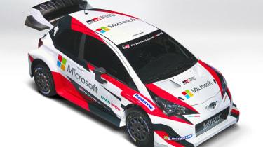 Toyota Yaris WRC Paris reveal